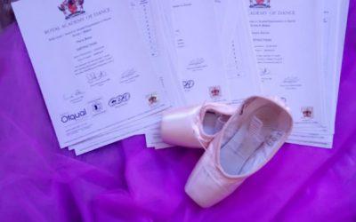 100% de aprobados en los exámanes de la Royal Academy of Dance!