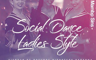 Social Dance – Octubre 2019 + The Mambo Sins