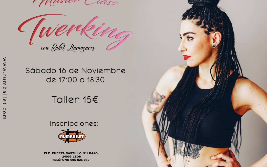 Masterclass de Twerking – Noviembre 2019