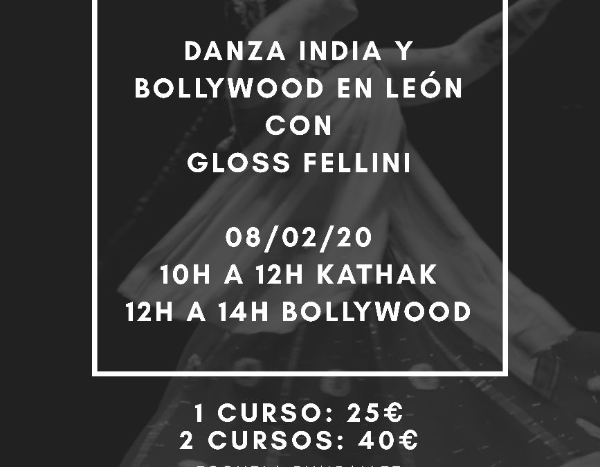 Talleres de Danza India y Bollywood