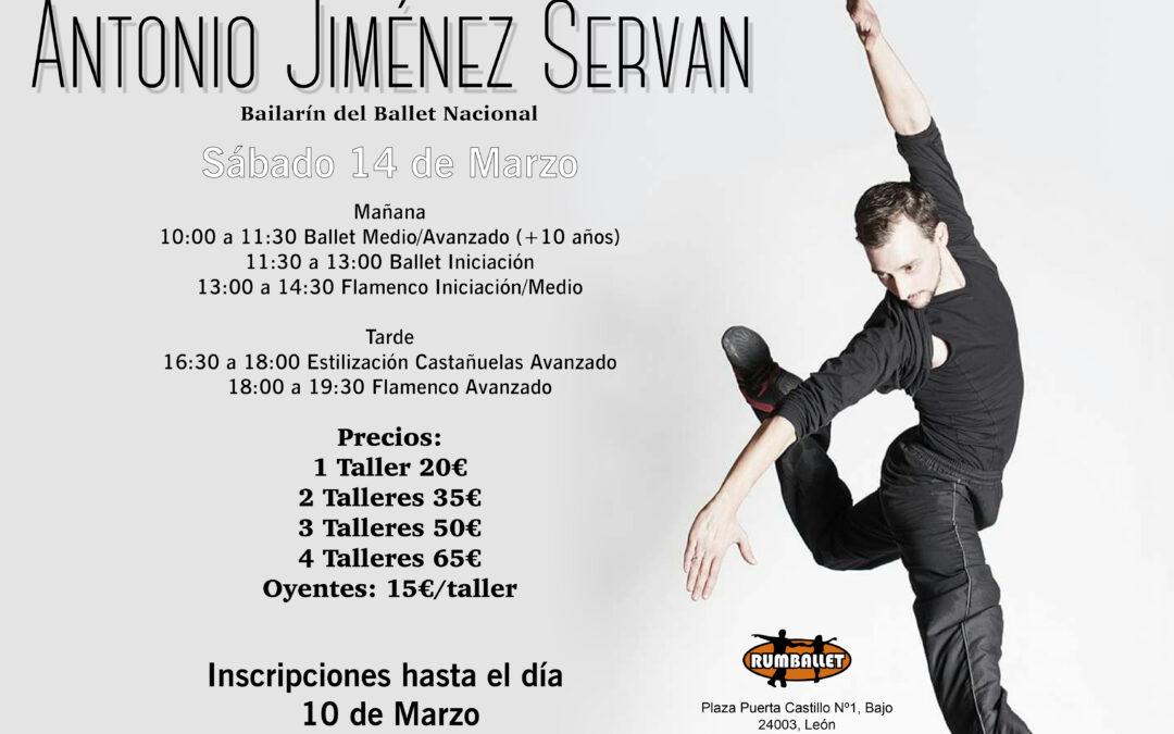 Talleres de Ballet y Flamenco – Marzo 2020
