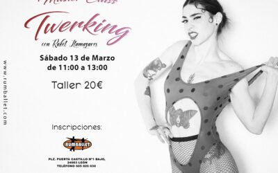 Masterclass de Twerking – Marzo 2021
